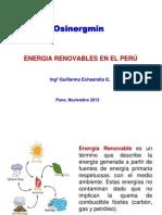 Desarrollo de Energias Renovables