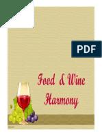 Food and Wine Harmony