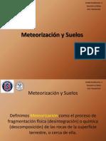Meteorizacion y Suelos. Unidad Tematica 3