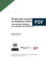 Protección Social Inclusiva en a.L. Simone Cecchini y Rodrigo Martínez