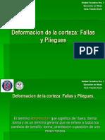 Deformacion de La Corteza. Fallas y Pliegues