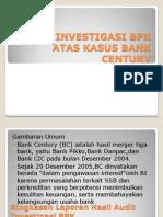 Audit Investigasi Bpk Atas Kasus Bank Century