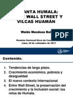 Waldo Mendoza Pucp Analisis Realidad Desafios