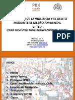 13 Prevencion de La Violencia y El Delito Mediante El Diseno Ambiental CPTED Arq Macarena Rau