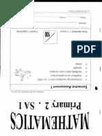 Chongfu P2 Maths SA1