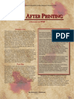 Burn After Printing 1-1