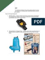 Drainage Equipment
