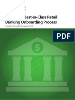 Building a Best-In-Class Retail Banking Onboarding Process - Loyalty Through Engagement