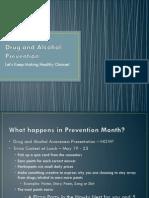 Drug and Alcohol Awareness Presentation