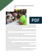 13/06/13 Diariomarca SSO Llama a Prevenir Enfermedades Diarreicas Durante Temporada de Lluvias