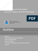 ENSO-Recent Evolution, Current Status and Predictions - NOAA