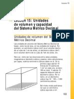 Unidades de Capacidad y Volumen