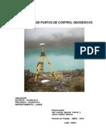 II Informe Georreferenciacion