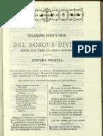Coloquio XVI del Bosque Divino (González de Eslava)