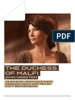 The Duchess of Malfi - Teachers' Pack