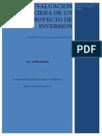 Evaluacion Financiera de Un Proyecto de Inversion