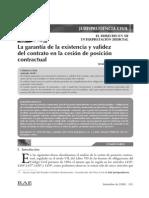 Jurisprudencia Cesion de Posicion Contractual