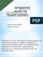 2-Consentimiento Informado en Transfusiones