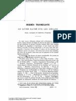 Hermès Trismégiste Le Livre Sacré Sur Les Décans