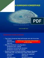 Kriteria Umum Penetapan Kawasan Korsevasi