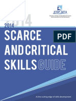 ETDP SETA Scarce and Critical Skills Guide 2014