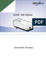 Manual Dlan 200 AVplus Liveplug HD En