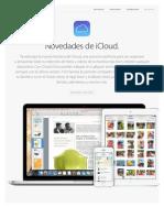 Novedades en iCloud (junio 2014)