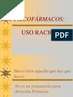 PSICOFÁRMACOS uso racional 05.ppt