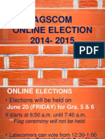 AGSCOM Election Orientation