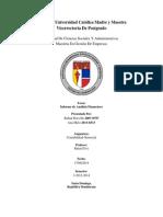 Contabilidad Financiera - Informe de Análisis Financiero