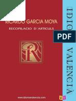 264 Artículos Sobre El Valenciano de Ricardo García Moya