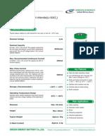 Green Energy Battery ER26500