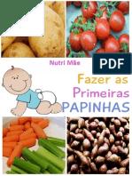 NutriMãe - Como Fazer as Primeiras Papinhas