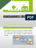 GENERADORES EOLCOS