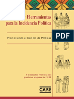 Sprechmann Pelton Guias y Herram.incid Politica