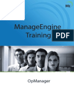 Opmanager Training