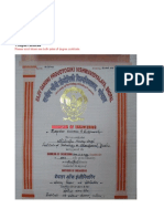 BE Degree Mark Sheets and Leaving Certificates