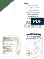 Tarjeta de Papa