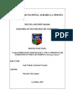 Proyecto Tesis Moringa - Toxicologia