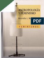 Moore, Henrietta - Antropologia y Feminismo