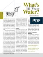 Whats in Your Water (Read)