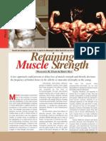 Retaining Mussle Strenth (Read)
