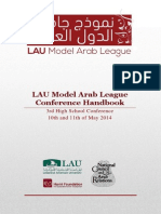 LAU Model Arab League Conference Handbook