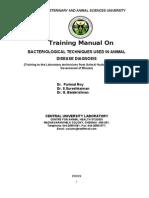 Bhutan Final -Bacteriology 13-11-09-2