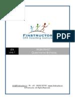 Answersheet CFA L1 Quantitative Methods