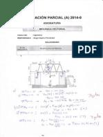Evaluacion Final de Mecanica Vectorial 2014-0 a - Desarrollo