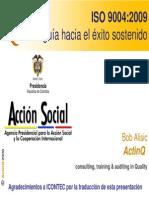 Explicación ISO 9004-2009