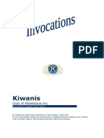 Kiwanis Invocations - Athelstone Club
