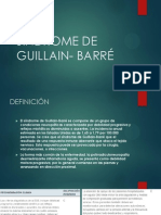 Sindrome de Guillain- Barré
