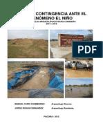 Plan de Contingencia Huaca Bandera
